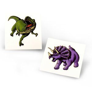 Dinosaur Comic Tattoos