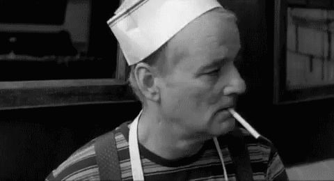 Pin for Later: 28 Times You Wished You Were as Cool as Bill Murray When he rocks this sweet hat in Coffee and Cigarettes.