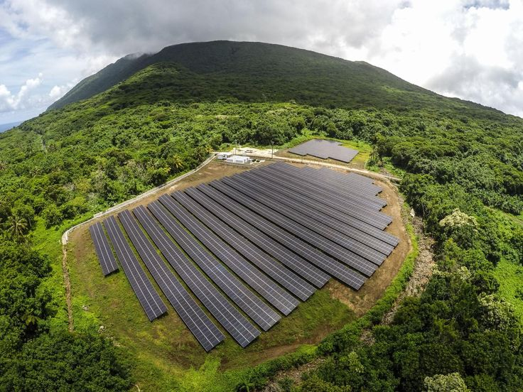 The island of Ta'u in American Samoa now boasts a solar microgrid from Tesla's SolarCity.