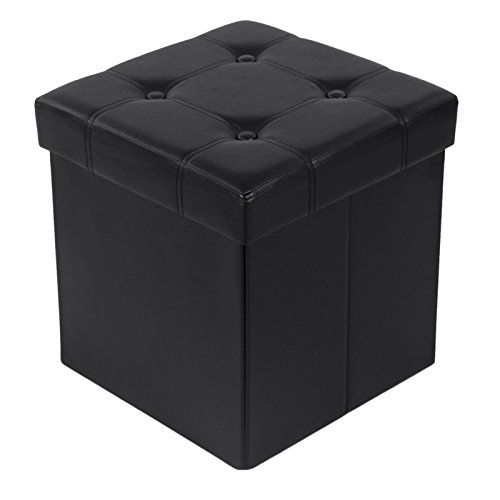 """Songmics 14 7/8"""" Storage Ottoman Cube Collapsible Footres..."""