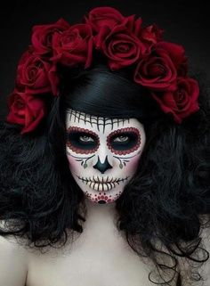 38 best Day of the Dead Halloween Costume images on Pinterest | La ...