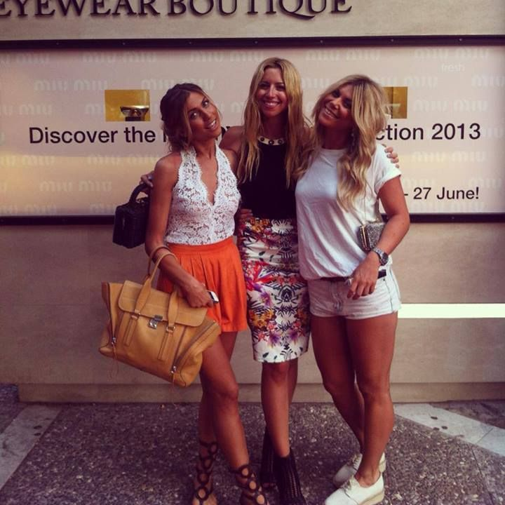 Fahion bloggers from allyouneedisstyle & twin fashion at our Miu Miu event!