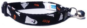 Ghosts Breakaway Cat Collar http://catbreedswithpictures.com/store/