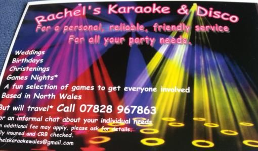 Rachel's Karaoke and disco is a Wedding Supplier of Hen Party, Stag Party, Entertainment, Children's Entertainment. Are you planning your Big Day and looking for wedding items, products or services? Why not head over to MyWeddingContacts.co.uk and take a look at Rachel's Karaoke and disco's profile page to see what they have to offer. Helping make your wedding day into a truly Amazing Day. Oh, and good luck and best wishes with your Wedding.
