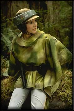 Princess Leia Organa-Endor. my cosplay next year and Sarah's going to be wicket