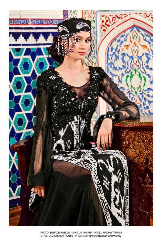silk uzbek IKAT