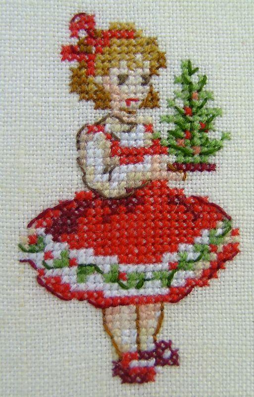 Petite déco de Noël – Corinne suit son fil – #Co…
