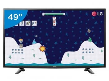 "TV LED 49"" LG Full HD 49LH5150 - Conversor Digital 1 HDMI 1 USB"