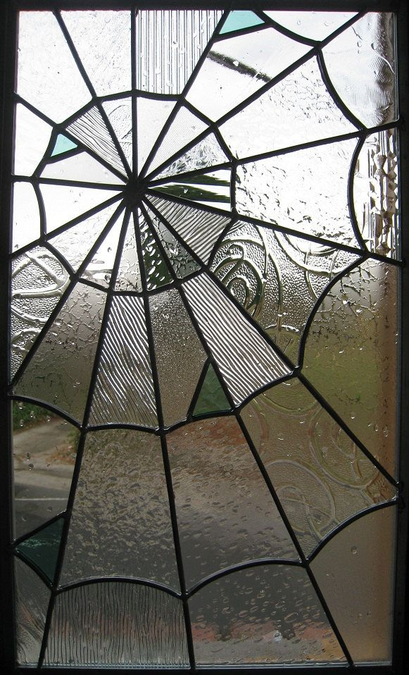 Kitchen - Need a piece of stained glass for above sink for window illusion and this one is lovely and unexpected