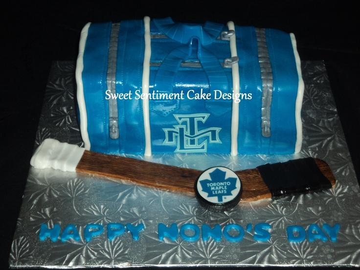 Hockey Cake Designs
