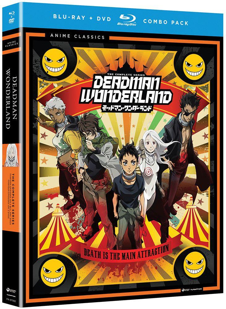Deadman wonderland bluraydvd anime classics with images