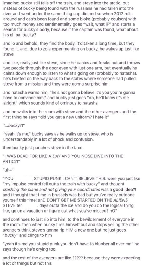 I wish this had happened