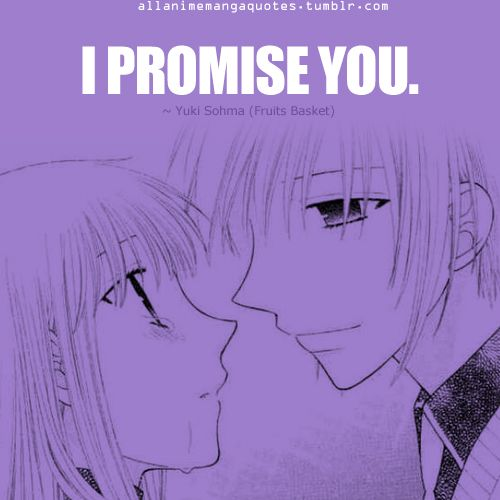 110 Best Fruits Basket Quotes Images On Pinterest