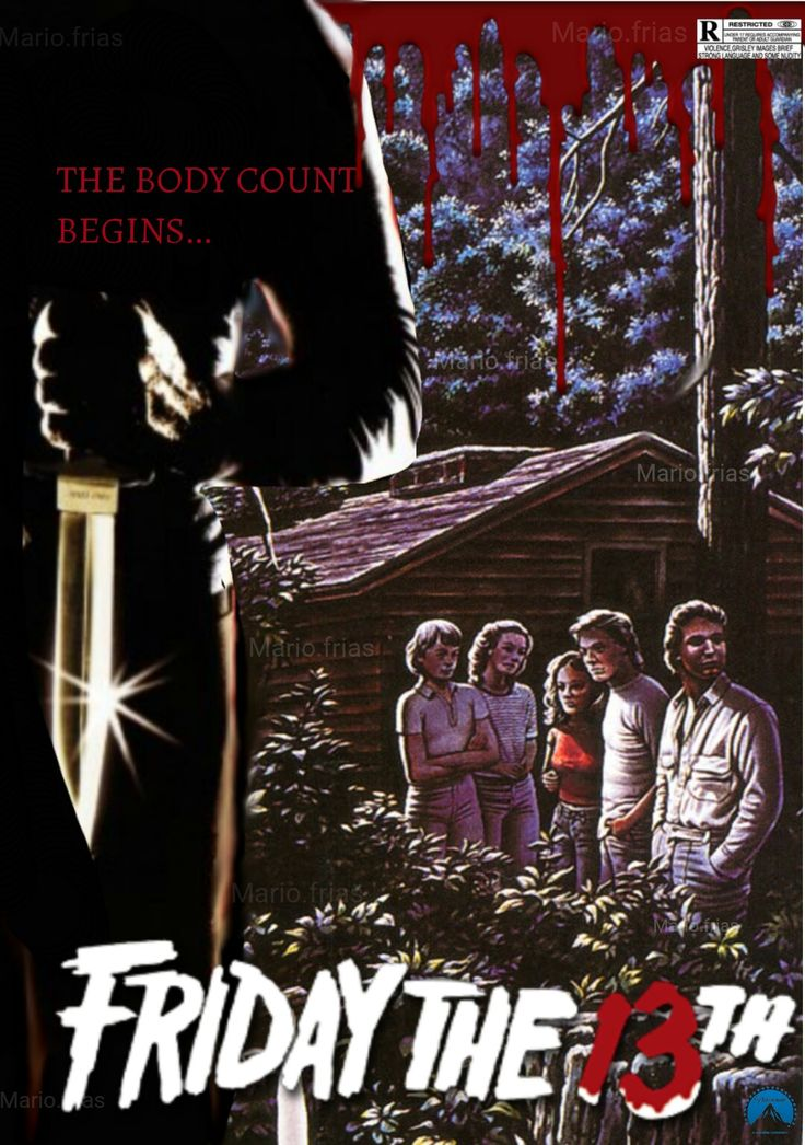 Friday the 13th Horror Movie Slasher 1980 Fan Made Edit