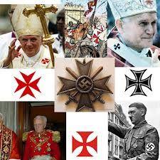 Afbeelding resultaten voor papa Maltezer kruis francisco