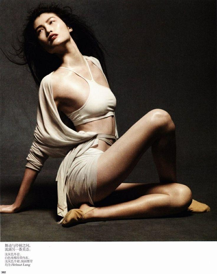 Liu Wen Sui He Ming Xi For Vogue China May
