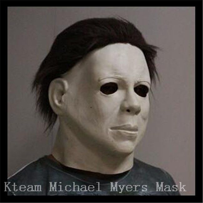 Top Grade Halloween Carniaval Character Scary Movie Theme Face Mask Movie Cosplay Latex Michael Myers Mask Full Face Head Mask