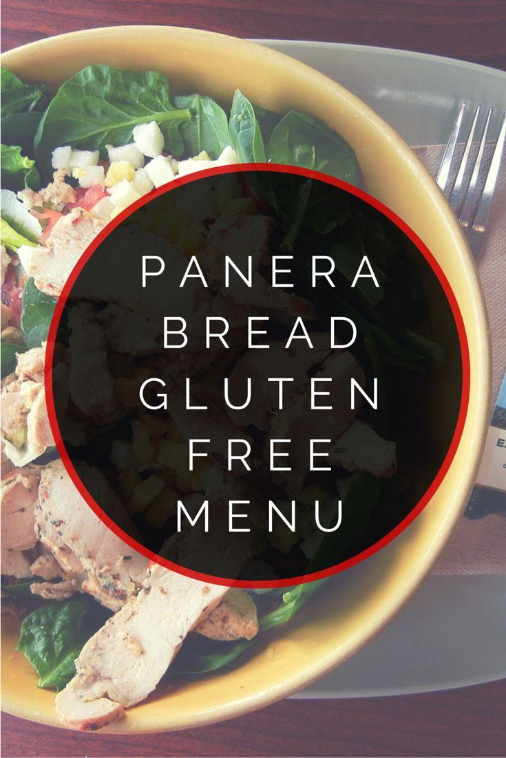 Panera Bread Gluten Free Menu #glutenfree