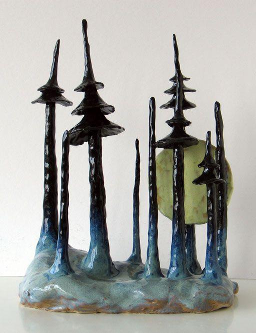 Marianne Krumbach. bjerg med sky