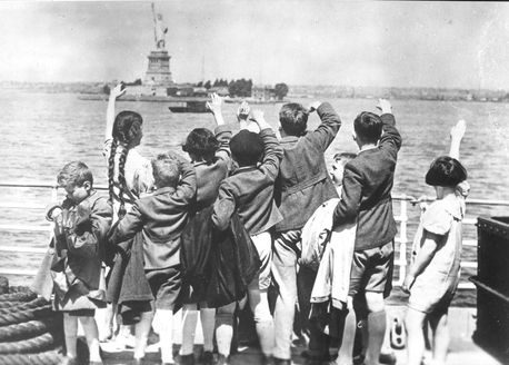 New York, United States, surviving Jewish children from ...