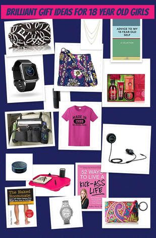 Brilliant Gift Ideas For 18 Year Old Girls Girl Birthday Gifts Teens