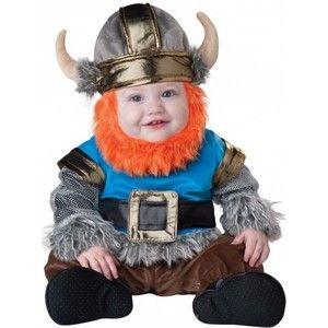 Gezien op beslist.nl: Premium bebaarde viking kostuum voor baby's 74/80 (6-12 maanden)