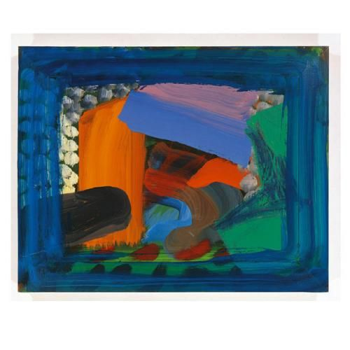 howard hodgkin ... after visiting david.
