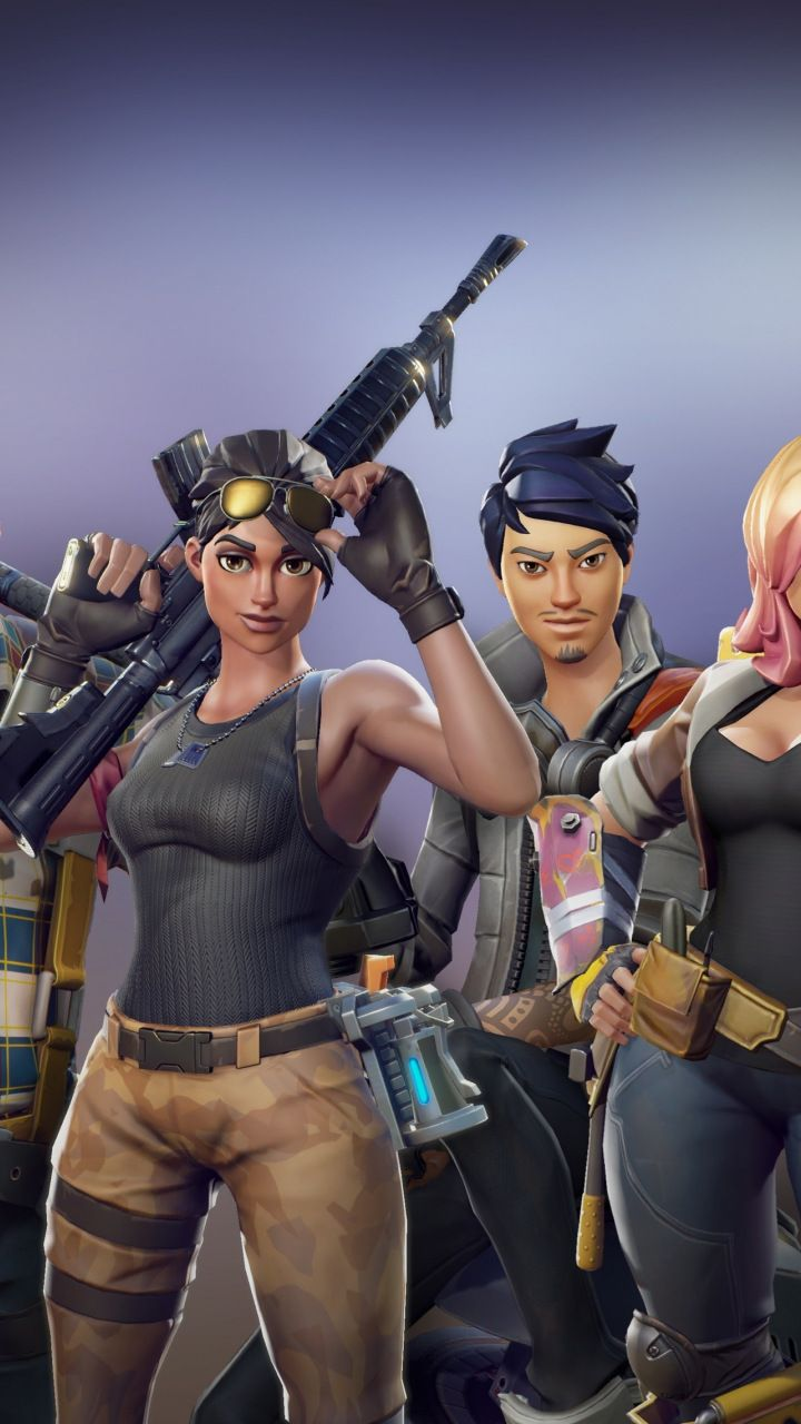 Iphone X Fornite Wallpapers All Characters Video Game Fortnite 720x1280 Wallpaper