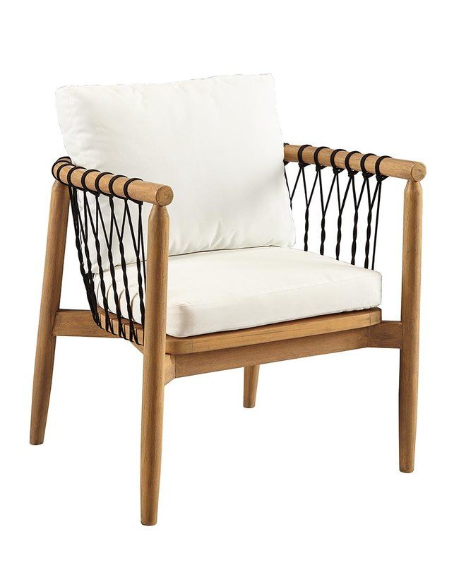 Bakerstown Teak Patio Chair With Cushions Lounge Chair Outdoor Outdoor Furniture Chairs Patio Lounge Chairs