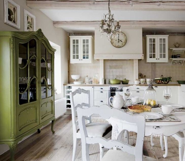 dining room and kitchen, mill in the province, lednogóra