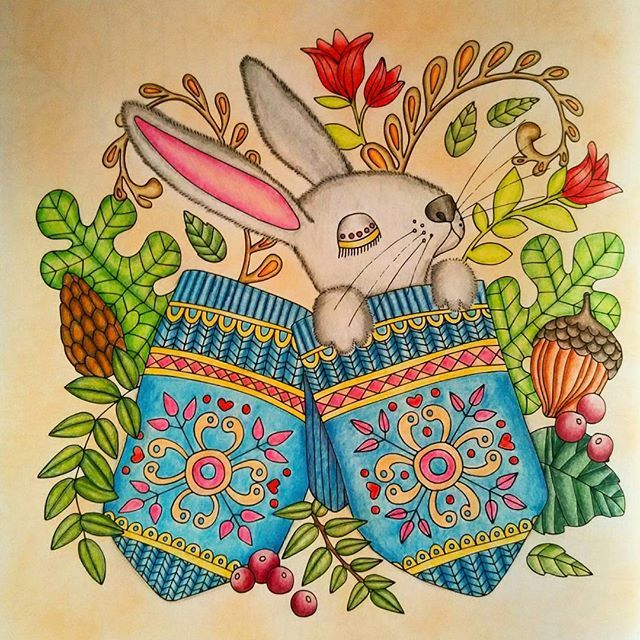 113 best Emelie Lidehall Oberg Coloring Books Finished Pages ...