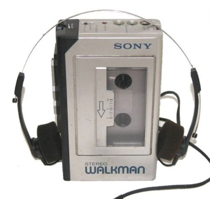 Walkman - portable music tape player