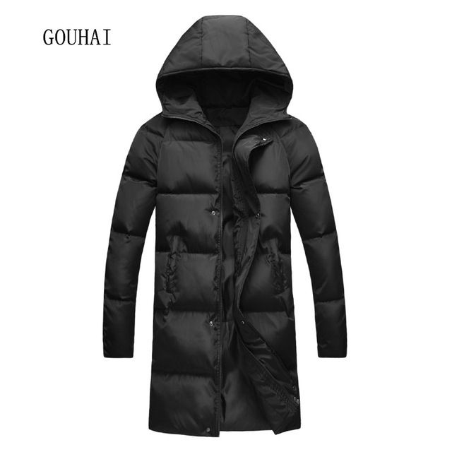 Check it on our site 2017 New Fashion Winter Jacket Men Snow Hooded Warm Coats Parkas Men Plus Size S-4XL 5XL Thick Long Solid Men's Winter Jackets just only $33.24 with free shipping worldwide  #jacketscoatsformen Plese click on picture to see our special price for you