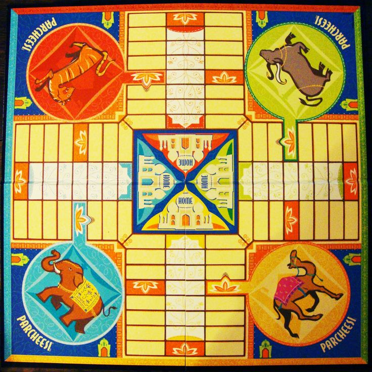parcheesi board game - Google Search  Vintage -  Origins of Game? India?