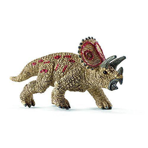 Mini Schleich Triceratops Model