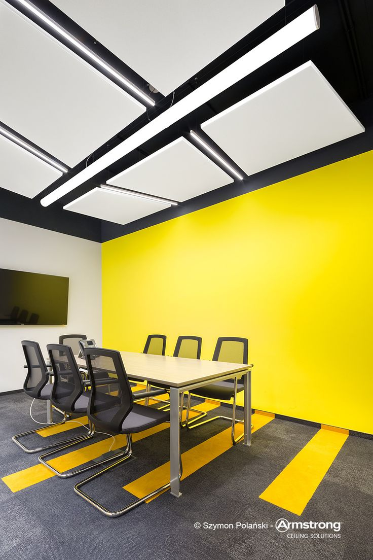 Stanley Black & Decker, Armstrong, sufity podwieszane, sufit akustyczny, ceiling, acoustic, Optima L Canopy Trapez