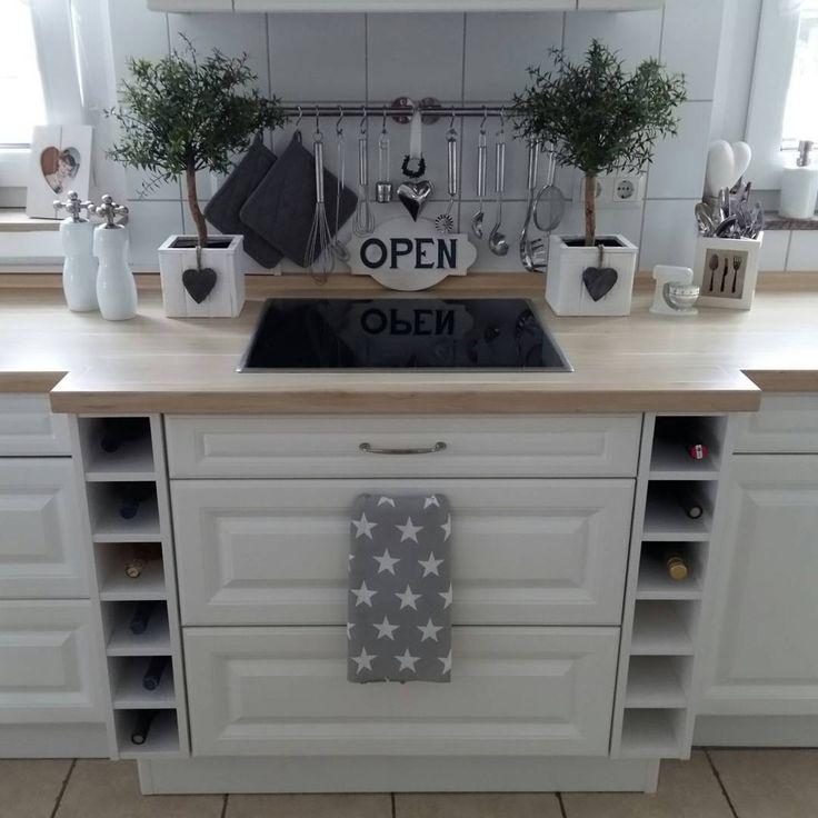 Die besten 25+ Ikea küche landhaus Ideen auf Pinterest Weiße - kchen weiss landhausstil modern