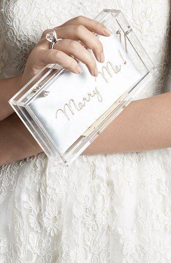 Marry Me Clutch    http://rstyle.me/n/ebi58nyg6