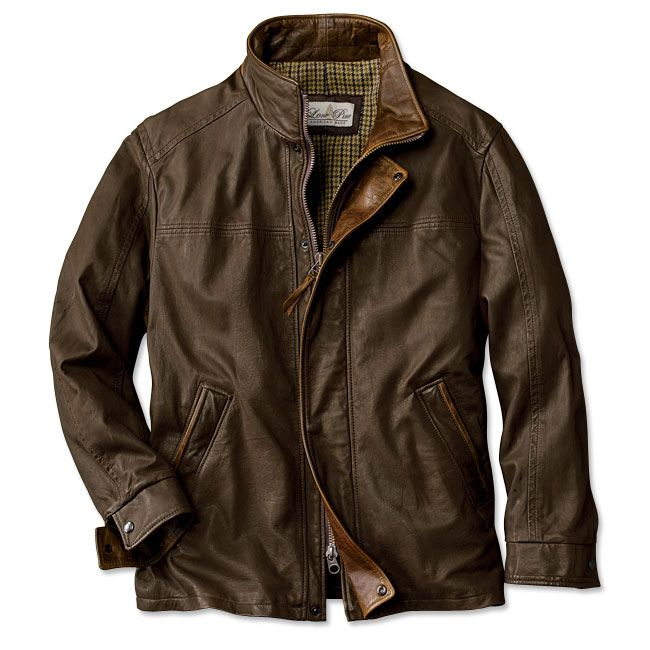 Made in USA, Made in America.  Winter Leather Jacket - Denver Leather Jacket -- Orvis on Orvis.com!