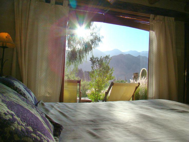 El placer de amanecer entre cerros. Quebrada de Humahuaca Viva Jujuy