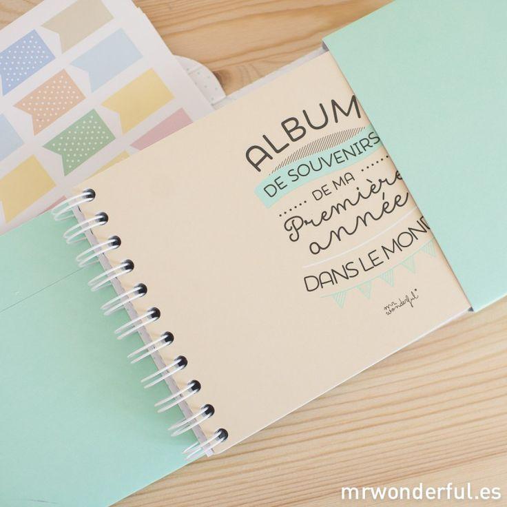 Album pour bébé - Bonjour le monde mon premier anniversaire (FR) - Albums - Papeterie