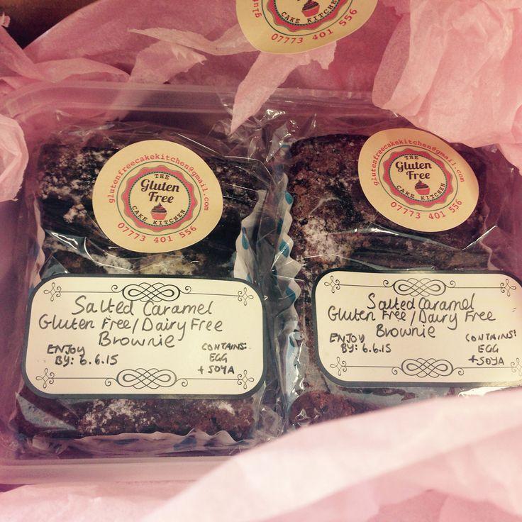 Delicious brownies to your door! All gluten and dairy free! #hardtobelieve