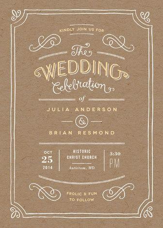 Love this invitation...