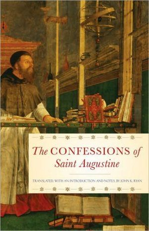 "This is in my library because I cannot stand it. I will never forget the struggle I had trying to understand St. Augustines' ""Confessions"". It wasn't one of those good struggles, where you manage to figure it out later and feel accomplished. This book made me very mad because I could not figure it out."