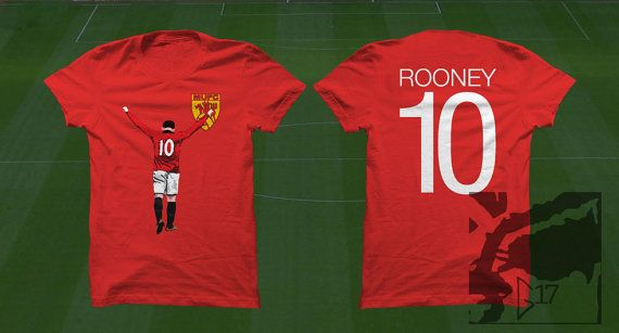 camiseta manchester united rooney