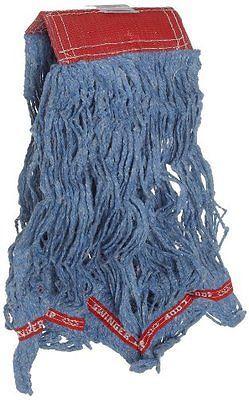 Rubbermaid Swinger Loop Wet Cleaning Mop Head, 5 Inch Headband, Large, Blue, New
