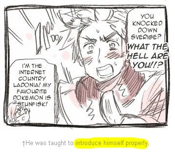 WHAT EVEN IS THIS COMIC AND WHY DOES HE CONSIDER STUNFISK A GOOD POKEMON<<<<it IS Hetalia...
