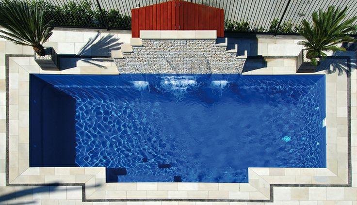 25 best ideas about fiberglass inground pools on - Diy fibreglass swimming pool installation ...