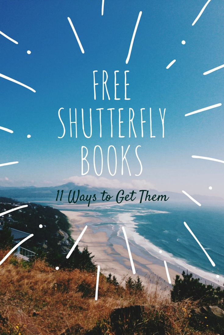 11 ways to get free photo books from Shutterfly.