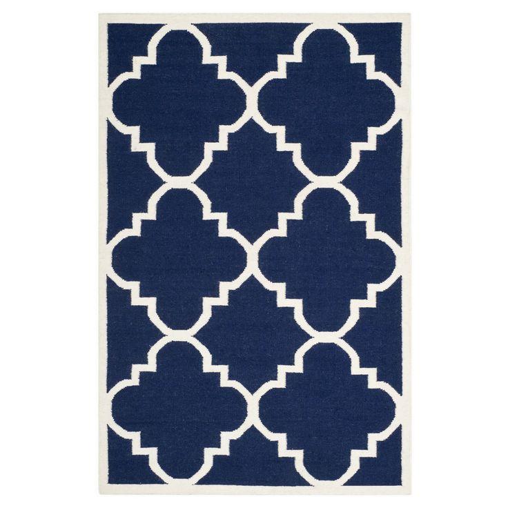 Teppich Alameda - Blau/Creme - 183 x 275 cm, Safavieh